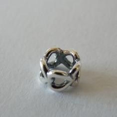 Talisman Pandora autentic 790454 Inimioare - Pandantiv argint