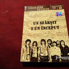 CD CELELALTE CUVINTE - UN SFARSIT E UN INCEPUT - Muzica Rock