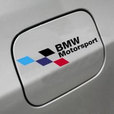 Sticker auto capac rezervor model BMW ///M Motorsport - Stickere tuning
