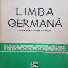 LIMBA GERMANA PENTRU ANII III SI IV DE STUDIU - Eremia, Foamete, Savinuta - Curs Limba Germana