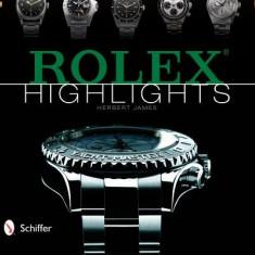 Rolex Highlights - Carte in engleza