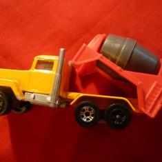 Jucarie- Camion cu bena mobila - Majorette Franta - L= 8,1 cm scara 1/100