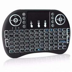 Tastatură wireless cu Touchpad, dongle usb fără fir iluminare din spate - Tastatura tableta