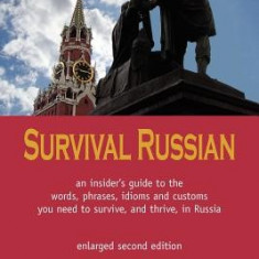 Survival Russian - Carte in engleza