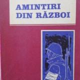 Amintiri Din Razboi - Maria Golaescu, 400788 - Istorie