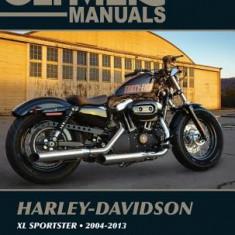 Harley-Davidson Xl883 Xl1200 Sportster 2004-2013 - Carte in engleza