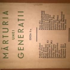 F. Aderca - Marturia unei generatii (1929; ed. a II-a). Ilustratii: Marcel Iancu