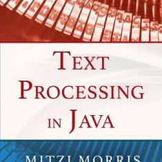 Text Processing in Java - Carte in engleza