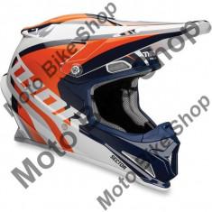 MBS Casca motocross copii Thor Sector Richochet, albastru/portocaliu, M, Cod Produs: 01111091PE
