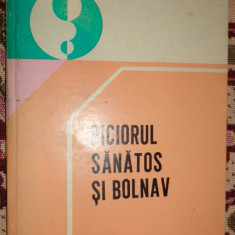 Piciorul sanatos si bolnav ( ortopedie ) an 1982/14pag- Pompiliu Petrescu - Carte Ortopedie