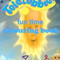 Teletubbies Fun Time Colouring Book - Carte in engleza