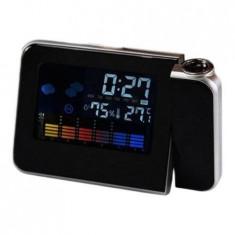 Ceas cu proiectie DS-8190, LCD, alarmaDS-8190, LCD, alarma