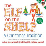 The Elf on the Shelf Girl Dark Doll with Book: A Christmas Tradition [With Book(s)]