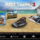 Joc consola Square Enix Ltd JUST CAUSE 3 COLLECTORS EDITION pentru XBOX ONE - Jocuri Xbox One
