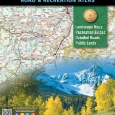 Colorado Benchmark Road & Recreation Atlas - Harta Rutiera