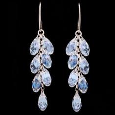 Cercei cu cristale swarovski Multi Briolette Earrings 6, 2 cm - Cercei Swarovski