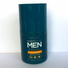 Deodorant roll-on revitalizant 48H North for Men (Oriflame) - Antiperspirant barbati
