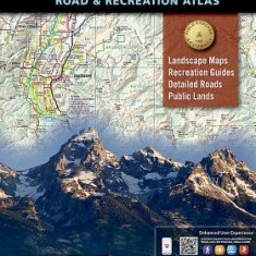 Wyoming Road & Recreation Atlas - Harta Rutiera