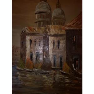 Tablou  Reproducere Van Gogh  vase la mal  50x63cm ulei pe panza