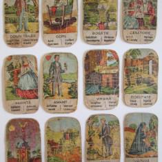 Set carti de ghicit colectie Tarot tiganesc din anii 20 - Carti poker