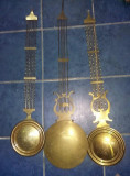 Pendula antica originala,ceas tip mobila antica,brat ceas de perete,Tp.GRATUIT