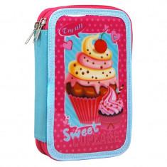 Penar fetite Sweet Cupcake, 20 cm, Multicolor