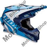MBS Casca motocross Thor Sector Ricochet, albastru/bleumarin/alb, XL, Cod Produs: 01105164PE