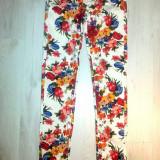 Pantaloni Miss Sixty Xs - Pantaloni dama, Culoare: Alb