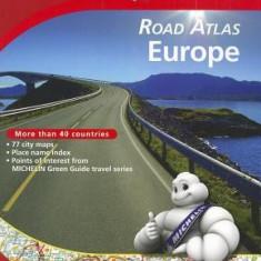 Michelin Road Atlas Europe - Harta Rutiera
