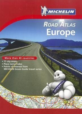 Michelin Road Atlas Europe foto