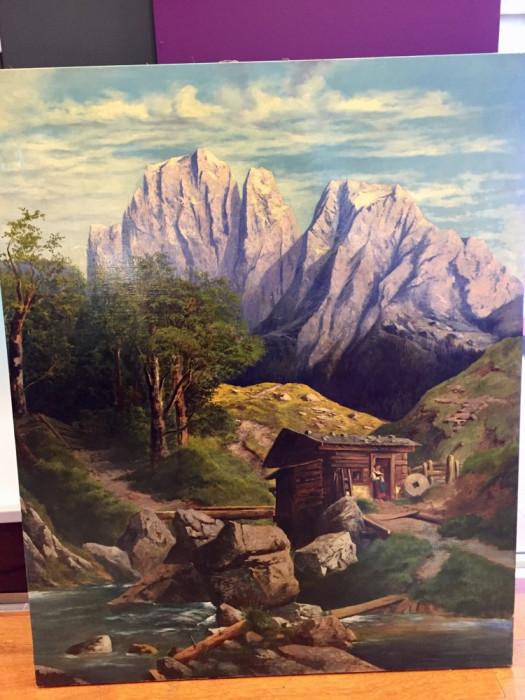 PICTURA MARE IMPRESIONANTA PEISAJ Tirol 116 x 96 cm