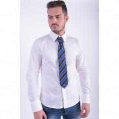 Cravata Matase Selected Southbank Albastru Stripes Negru - Papion Barbati