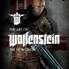 The Art of Wolfenstein: The New Order - Carte in engleza