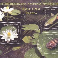 Romania 2008 Lp 1822 Rezervatia Paraul Petea Bloc MNH.