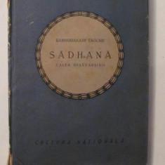 """GE - Rabindranath TAGORE """"Sadhana"""" 1922"""