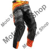 MBS Pantaloni motocross Thor Pulse Velow S7, negru/portocaliu, 34, Cod Produs: 29015844PE