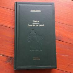 Carte biblioteca Adevarul - Pisica si Casa de pe canal de Georges Simenon 270pag - Roman