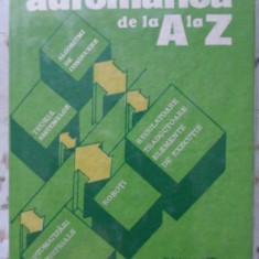 Automatica De La A La Z - Colectiv, 400968 - Carti Electrotehnica