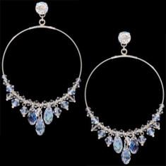 Cercei cu cristale swarovski Round Briolette Earrings 6, 2 cm - Cercei Swarovski