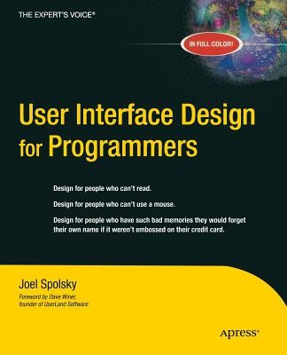 User Interface Design for Programmers foto