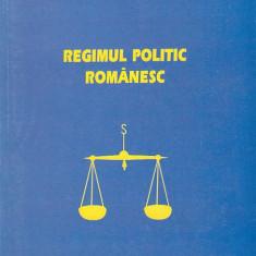 ION URSU - REGIMUL POLITIC ROMANESC ( CU AUTOGRAF )
