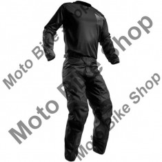 MBS Pantaloni motocross Thor Pulse Blackout S7, negru, 34, Cod Produs: 29015853PE - Imbracaminte moto