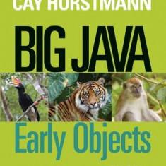 Big Java: Early Objects - Carte in engleza