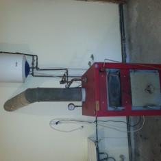 Centrala termica pe lemme,  carbuni, rumegus etc.