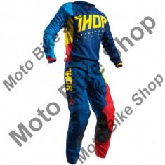 MBS Pantaloni motocross copii Thor Pulse Aktiv S7Y, albastru/rosu, 18, Cod Produs: 29031441PE - Imbracaminte moto
