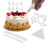 Kit decorare prajituri cu 100 piese - Forma prajitura