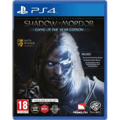 Joc software Middle-Earth: Shadow Of Mordor Goty Edition PS4