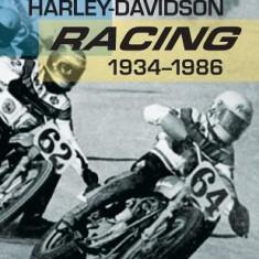 Harley-Davidson Racing, 1934-1986 - Carte in engleza