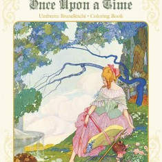 Umberto Brunelleschi: Stories from Once Upon a Time Coloring Book - Carte de colorat