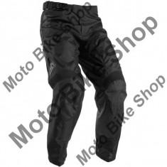 MBS Pantaloni motocross Thor Pulse Blackout S7, negru, 36, Cod Produs: 29015854PE - Imbracaminte moto